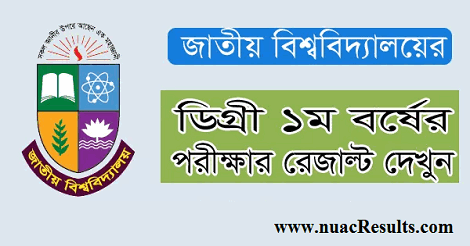 Degree 1st year result 2018
