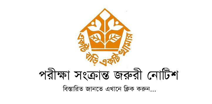 Ektee Bari Ektee Khamar Job Exam Notice